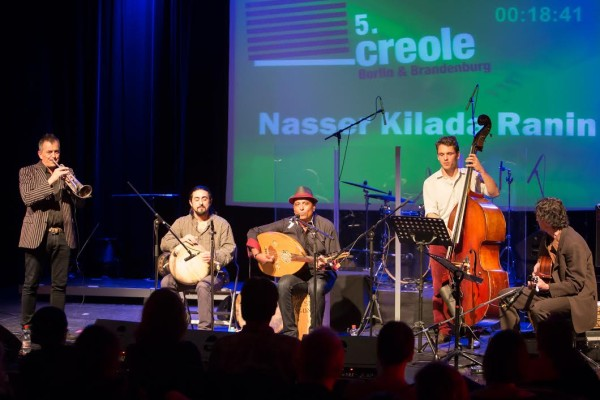 Nasser Kilada beim 5. Creole Wettbewerb